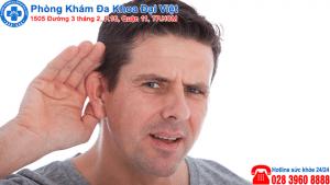 Giảm thính lực do viêm tai
