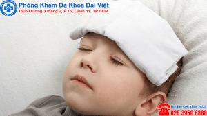 sốt do viêm họng , tai mũi họng