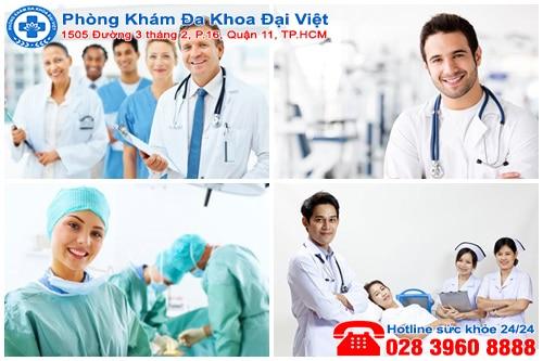 Phòng khám đa khoa Đại Việt uy tín tại TPHCM