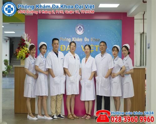 Đại Việt địa chỉ điều trị viêm phần phụ uy tín, an toàn