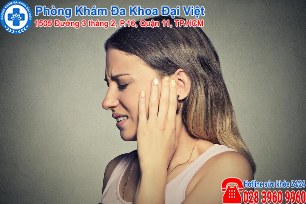biến chứng viêm tai ngoài