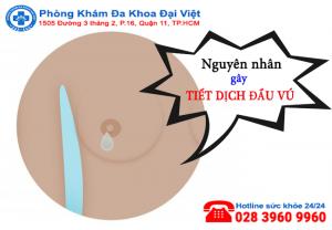 Nguyên nhân gây tiết dịch đầu vú - Cách phòng tránh
