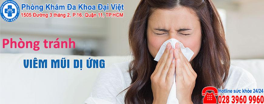 giải pháp phòng tránh viêm mũi dị ứng