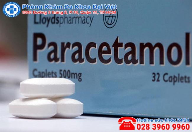 Đau bụng kinh uống paracetamol có sao không?