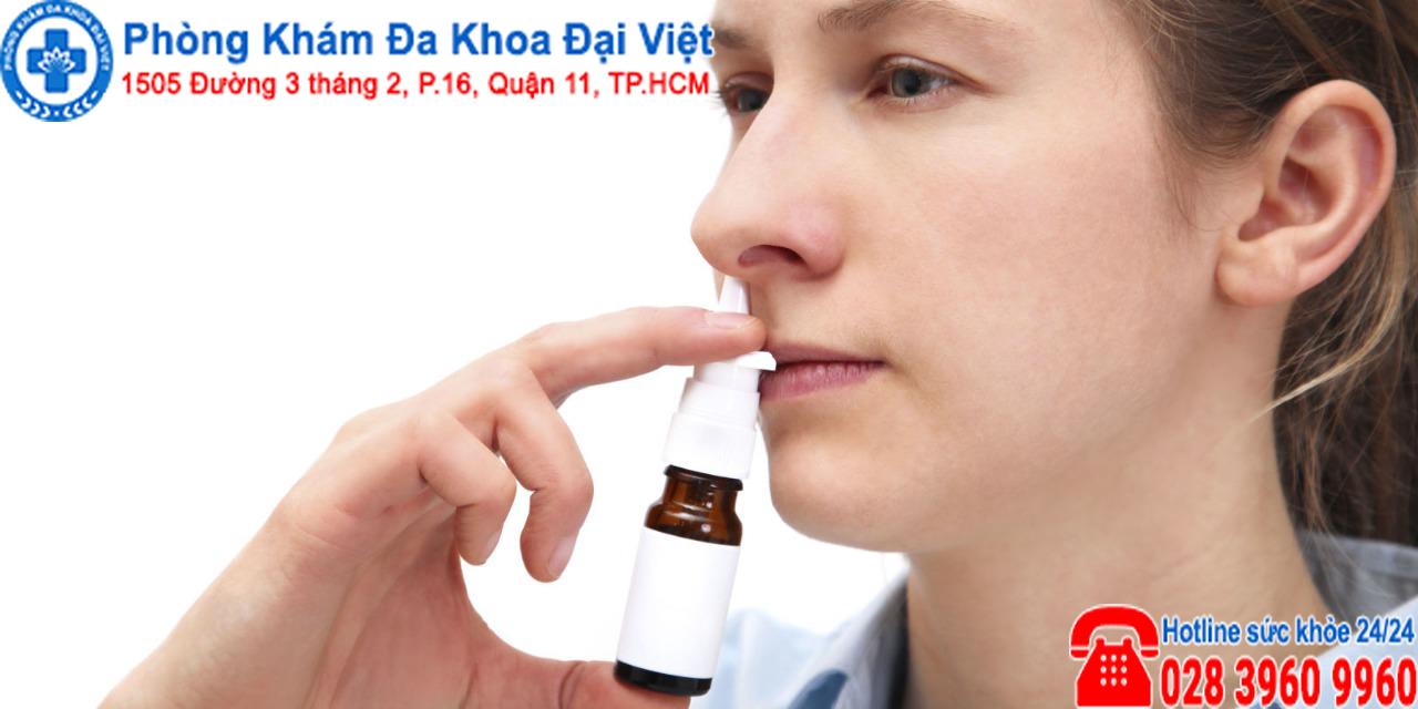 Sử dụng thuốc xịt chữa viêm xoang có thật sự hiệu quả