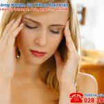 Nguyên nhân gây đau đầu chóng mặt trong kỳ kinh