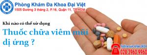Thuốc chữa viêm mũi dị ứng